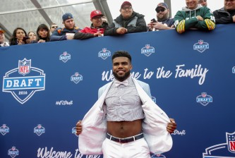 NFL Draft - Red Carpet