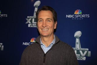 Super Bowl XLVI Broadcasters Press Conference